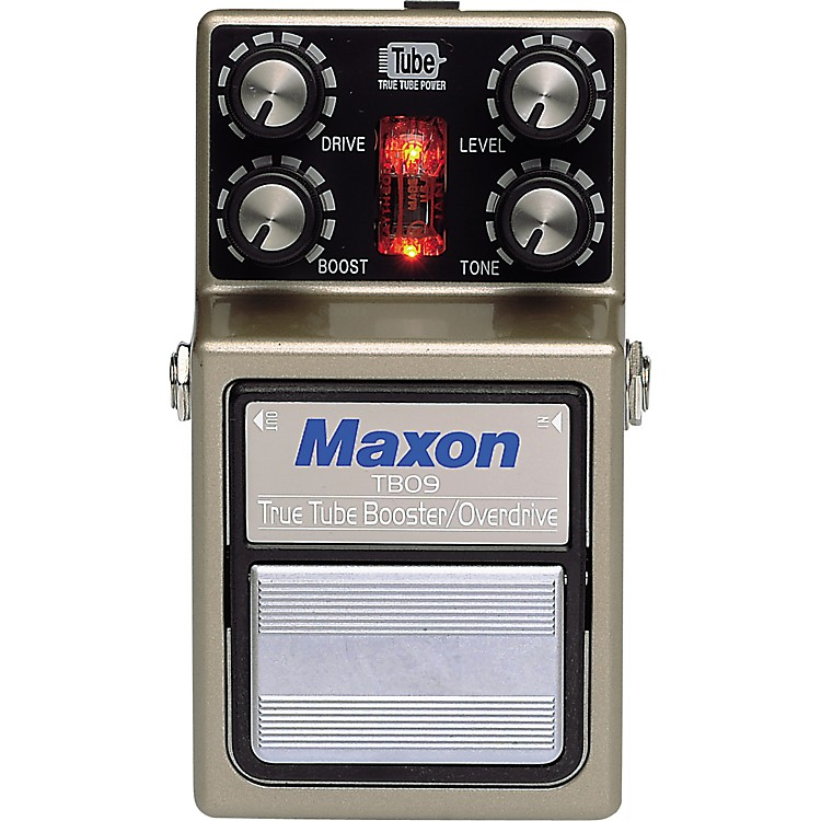 MaxonTBO-9 True Tube Booster/Overdrive Guitar Effects Pedal