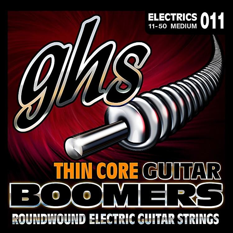 GHSTC-GBM Thin Core Boomers Medium Electric Guitar Strings (11-50)