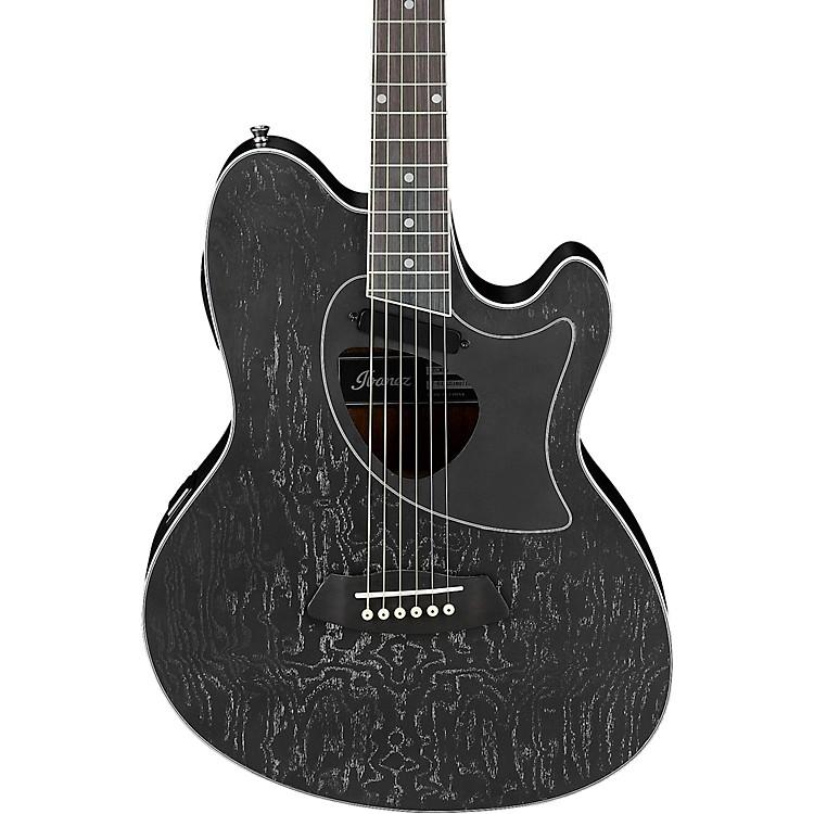 IbanezTCM60 Talman Electric-Acoustic GuitarBlack Satin