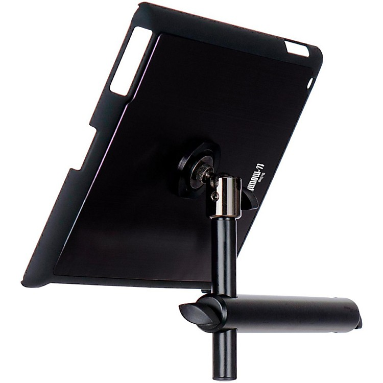 On-Stage Stands TCM9160 Tablet Mounting System with Snap-On Cover Black