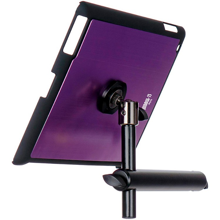 On-Stage StandsTCM9160P Purple Tablet Mounting System with Snap-On CoverPurple