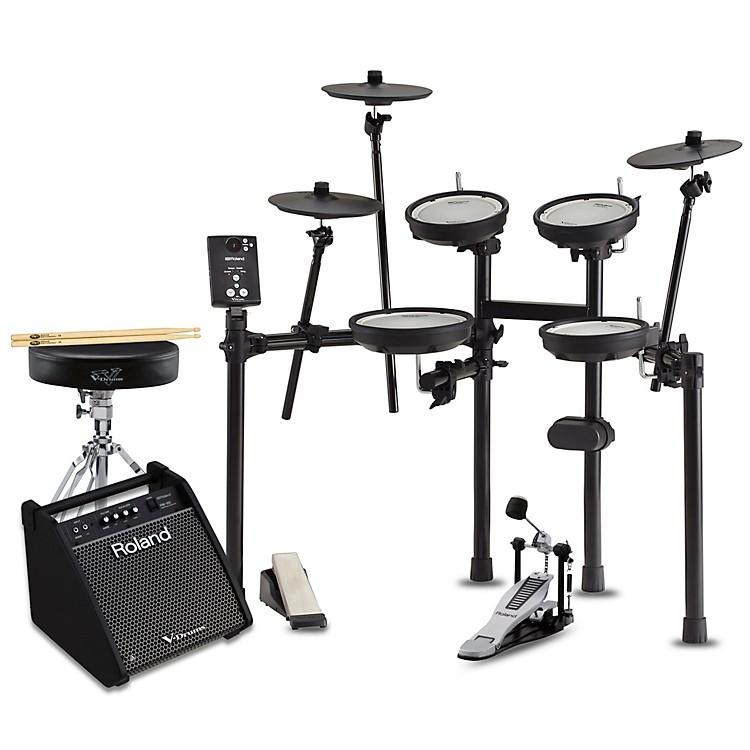 RolandTD-1DMK Electronic Drum Set with PM100 Speaker System Premium Bundle