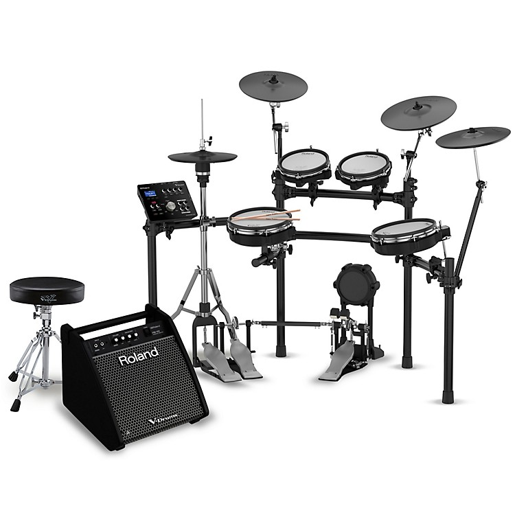 RolandTD-25KV Electronic Drum Set Complete Bundle