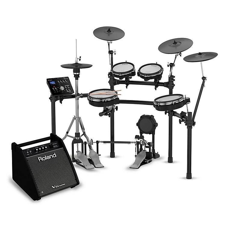 RolandTD-25KV Electronic Drum Set with PM-100 V-Drum Speaker