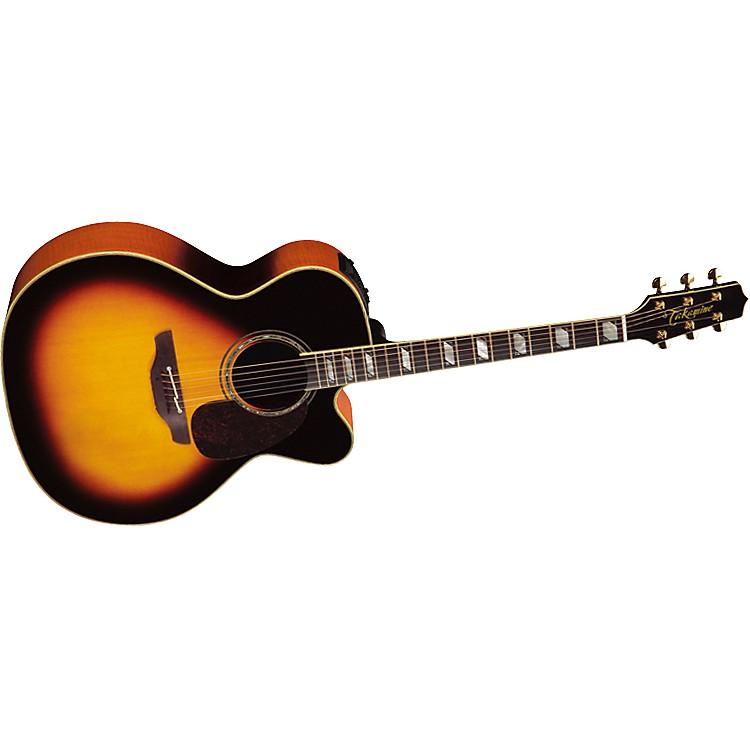 TakamineTF250SMC Jumbo Acoustic-Electric Guitar