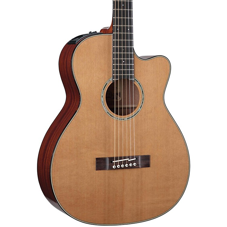 Takamine TF740FS OM Legacy Series Fingerstyle Acoustic-Electric Guitar