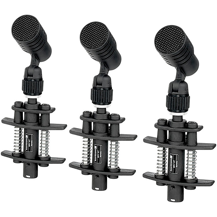 Beyerdynamic TG D35 Entry Level Clip on Dynamic Drum Mic - Pack of 3