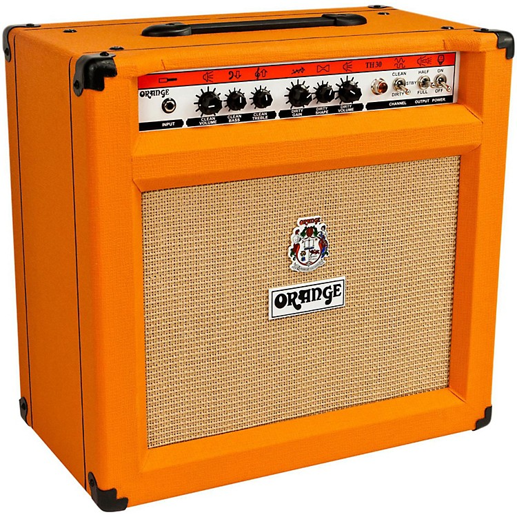 Orange Amplifiers TH30C 30W 1x12 Tube Guitar Combo Amp Orange