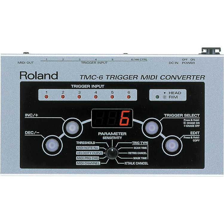 RolandTMC6 Trigger MIDI Converter