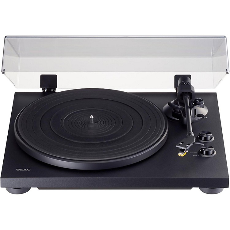 TEAC TN-200 Belt Drive Record Player with USB Output Black