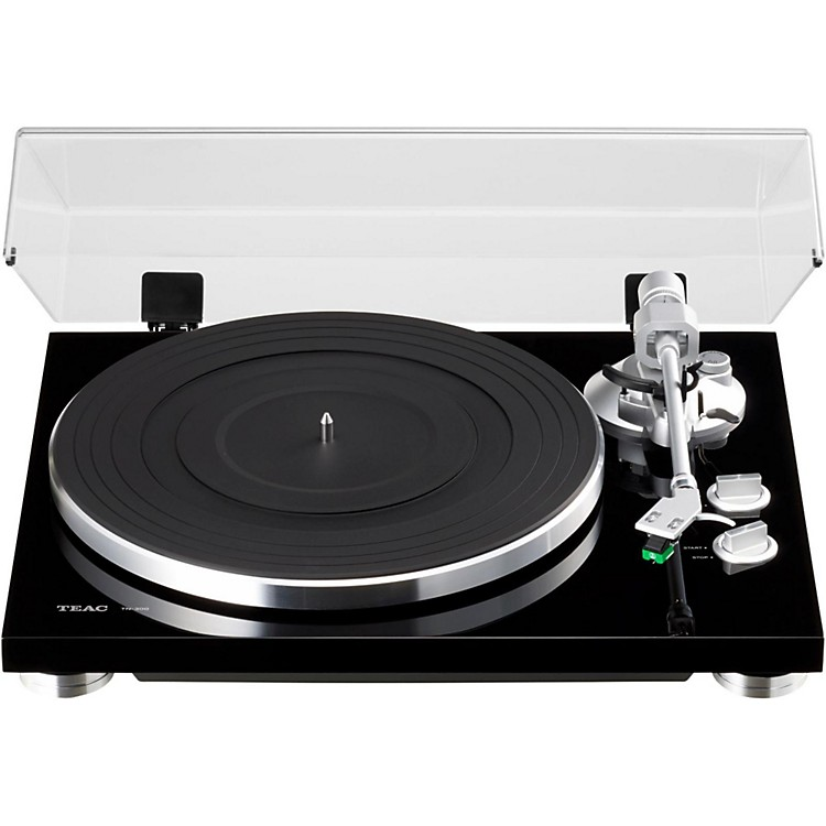 TEACTN-300 Analog Record Player with Phono EQ and USBBlack