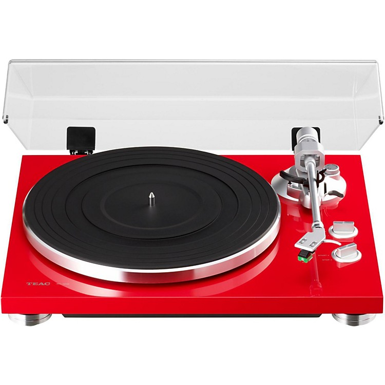 TEACTN-300 Analog Record Player with Phono EQ and USBRed