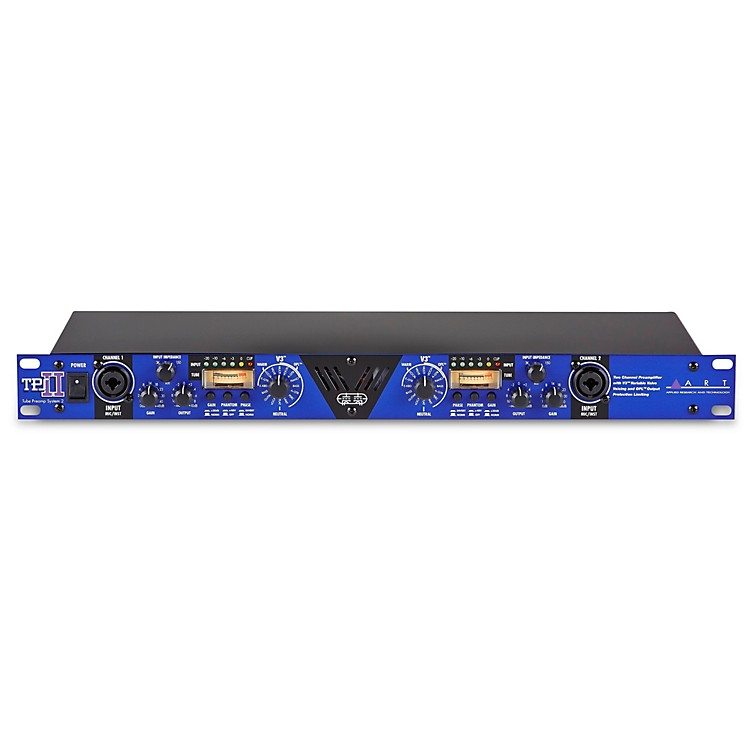 ART TPS II 2-Channel Variable Impedance Tube Preamp  888365781884