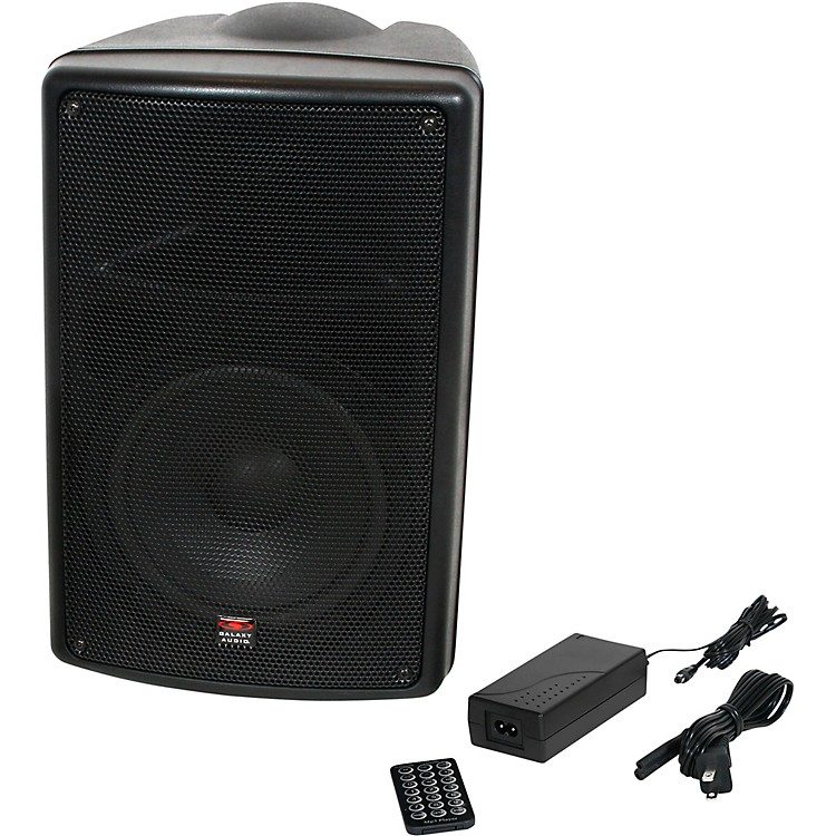 Galaxy AudioTQ8 Traveler Quest 8 Battery Powered All-In-One Portable PA Speaker