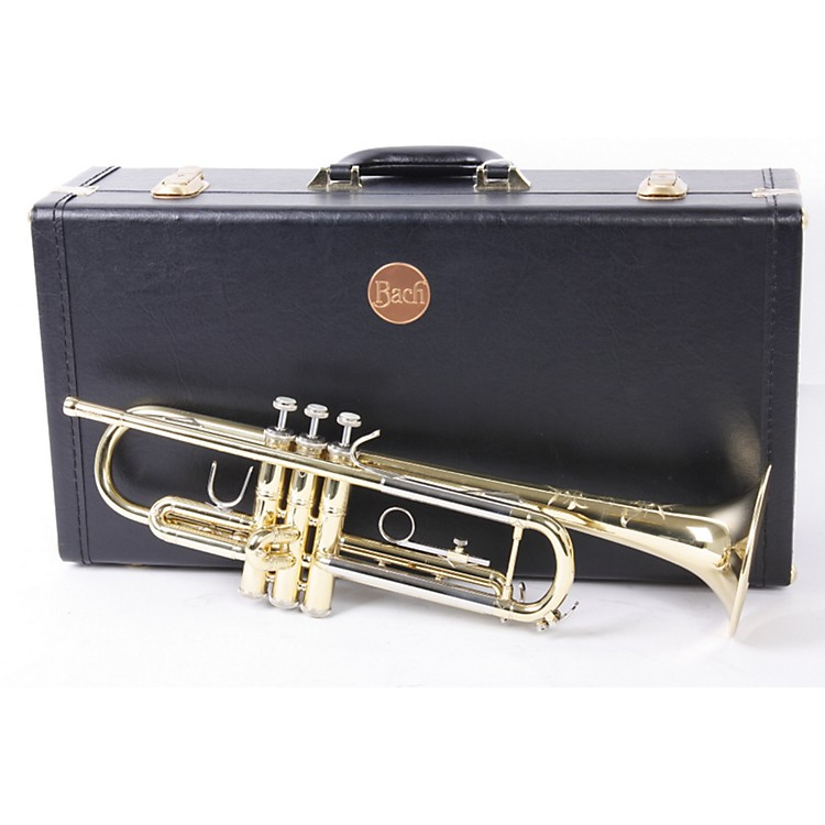 Bach TR200 Series Bb Trumpet TR200 Lacquer 886830381126