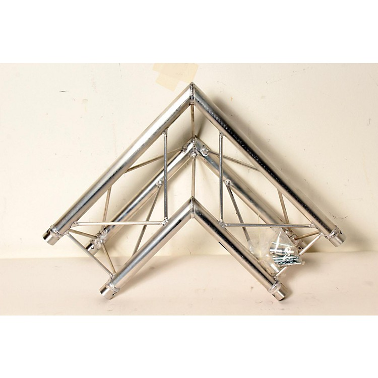 GLOBAL TRUSS TR96112-21 1.64 Ft. (.5 M) 2-Way 90-Degree Up/Down Corner Apex Triangle Truss  888365264738