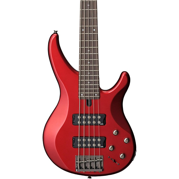 Yamaha TRBX305 5-String Electric Bass Candy Apple Red Rosewood Fretboard