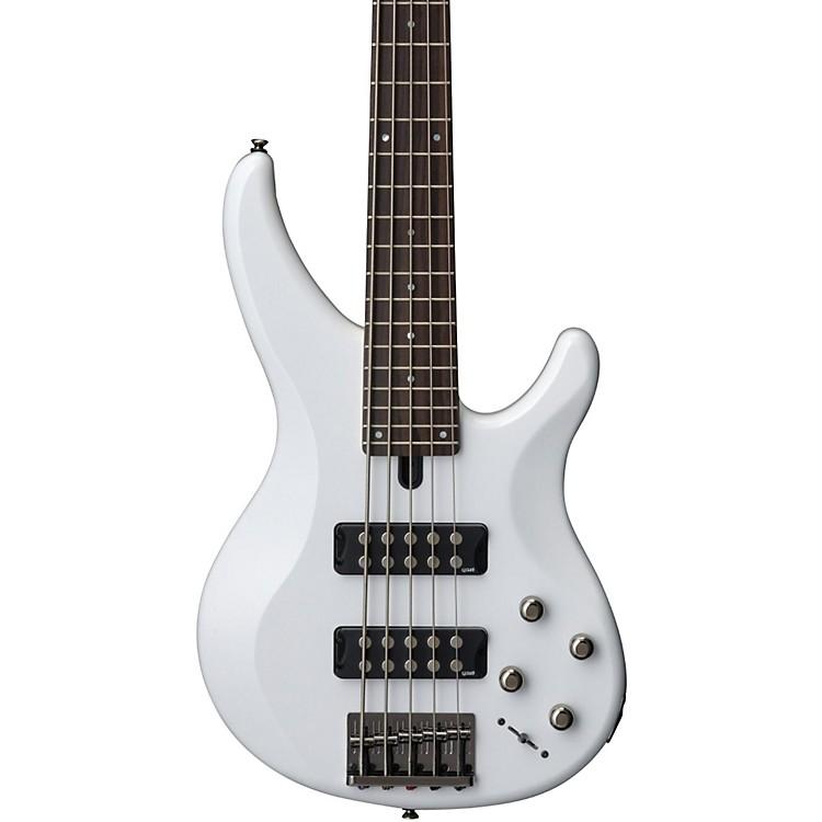 YamahaTRBX305 5-String Electric BassWhiteRosewood Fretboard