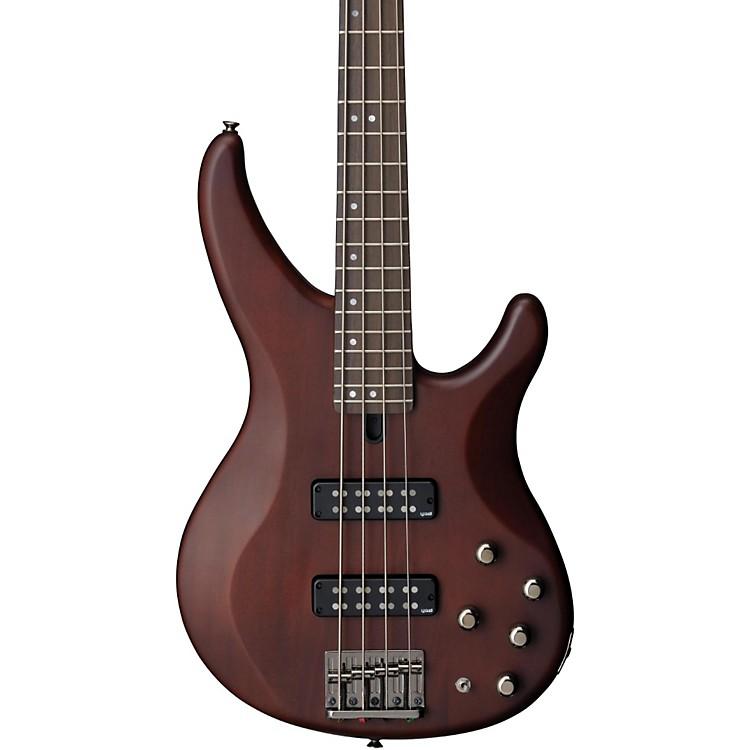 YamahaTRBX504 4-String Premium Electric BassTransparent BrownRosewood Fretboard