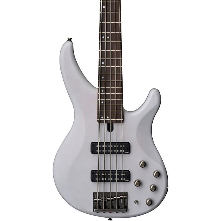 YamahaTRBX505 5-String Premium Electric BassTransparent WhiteRosewood Fretboard