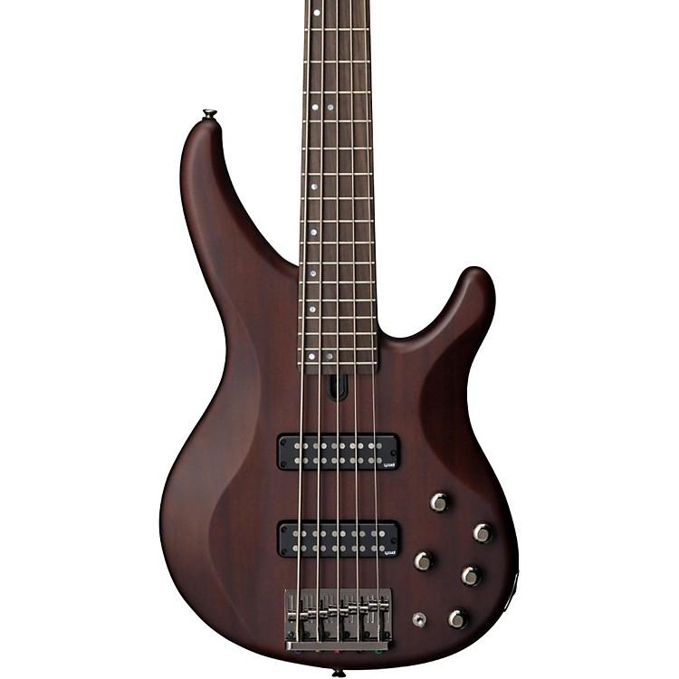 YamahaTRBX505 5-String Premium Electric BassTransparent BrownRosewood Fretboard