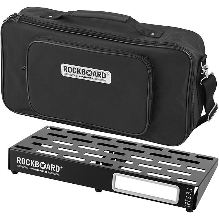 RockBoardTRES 3.1 Pedalboard with Gig Bag