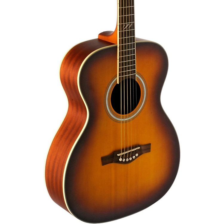 EKO TRI Series Auditorium Acoustic Guitar Honey Burst