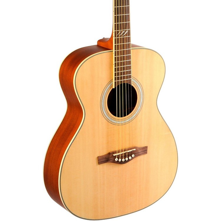 EKO TRI Series Auditorium Acoustic Guitar Natural