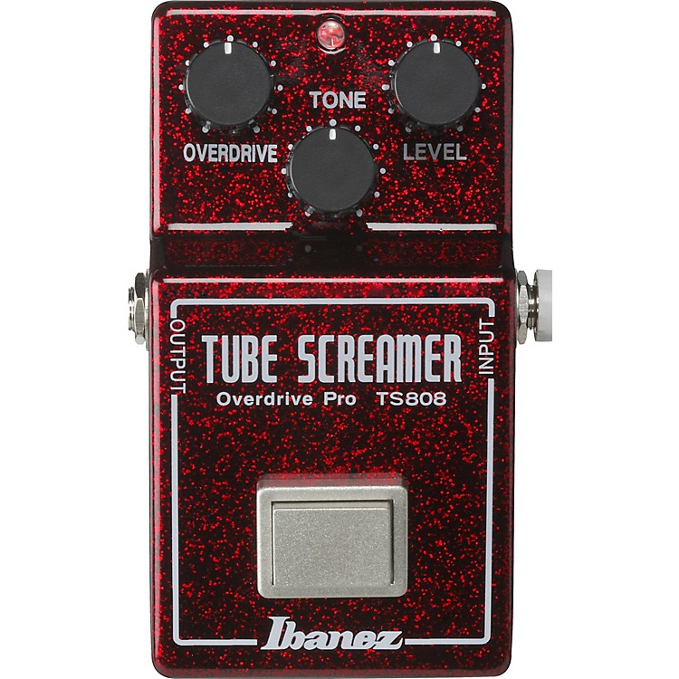 IbanezTS808 40TH Anniversary Tube Screamer Overdrive Pro Limited Edition Effects Pedal