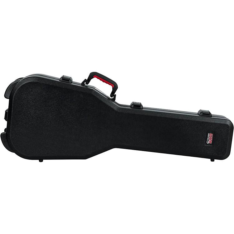 GatorTSA ATA Molded Gibson SG Guitar CaseBlackBlack