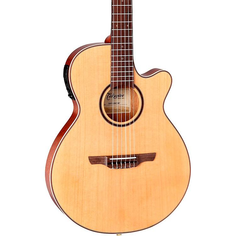 TakamineTSP148NC Nylon Thinline Acoustic-Electric GuitarSatin Natural