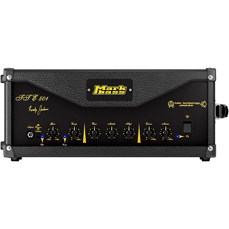 MarkbassTTE 501 500W Randy Jackson Signature Tube Bass Amp HeadBlack