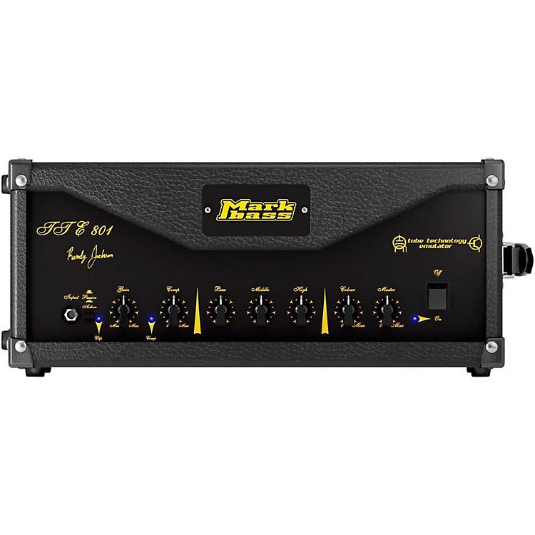MarkbassTTE 801 800W Randy Jackson Signature Tube Bass Amp HeadBlack