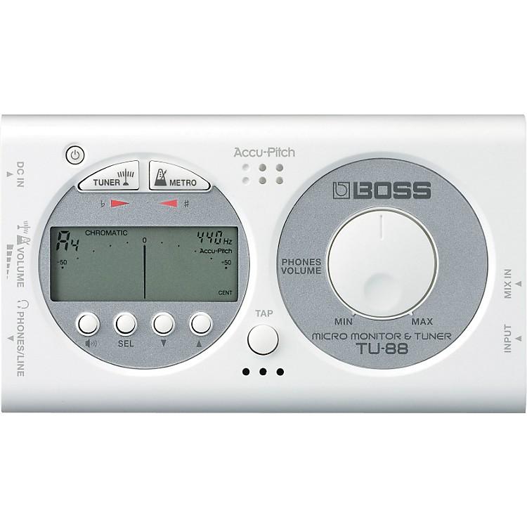 BossTU-88 Micro Monitor & Tuner for Guitar & BassBlack888365150307