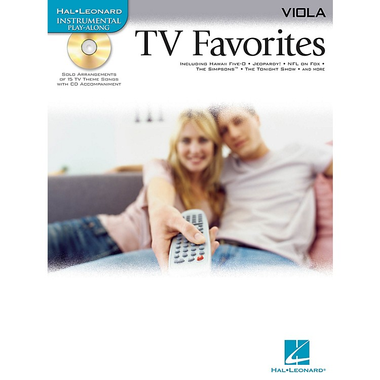 Hal LeonardTV Favorites (for Viola) Instrumental Play-Along Series Softcover with CD