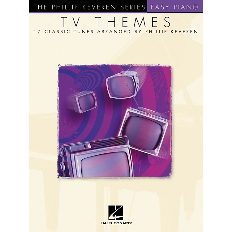 Hal Leonard TV Themes - Phillip Keveren Series For Easy Piano