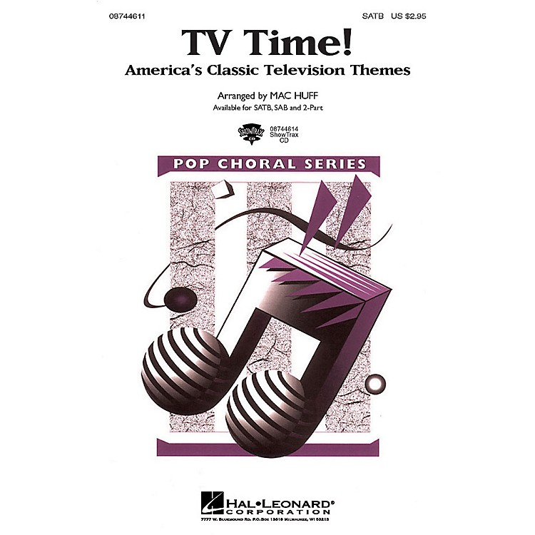Hal LeonardTV Time! - America's Classic Television Themes 2-Part Arranged by Mac Huff