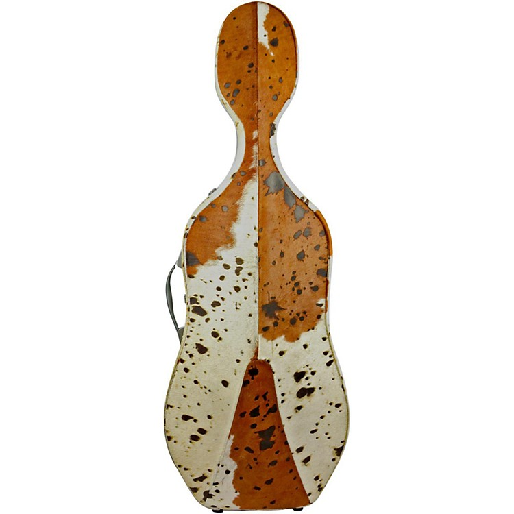 Bam TX1005XL Texas Cow Skin 2.9 Hightech Slim Cello Case Cow Skin