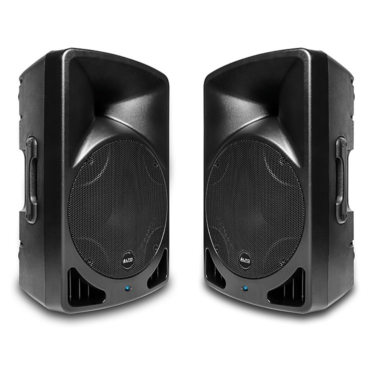 Alto TX15USB 15 Inch Powered Speaker with USB Media Player (Pair)