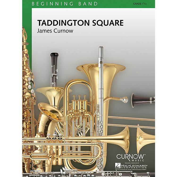 Curnow MusicTaddington Square (Grade 1.5 - Score and Parts) Concert Band Level 1.5 Composed by James Curnow