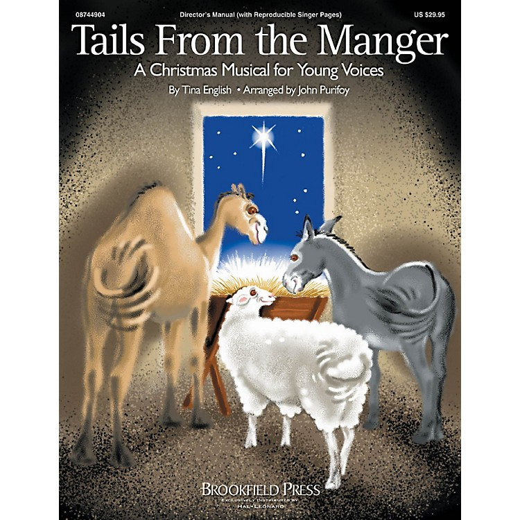 Hal LeonardTails from the Manger CD 10-PAK Composed by Tina English