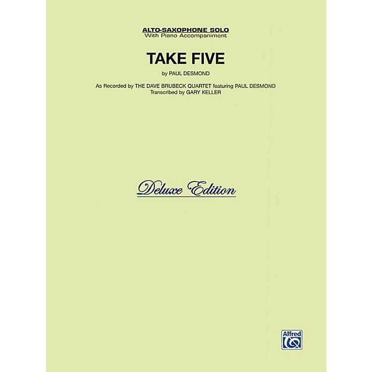 AlfredTake Five for Alto Sax The Dave Brubeck Quartet Book