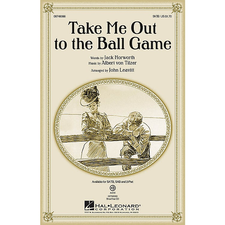 Hal LeonardTake Me Out to the Ball Game ShowTrax CD Arranged by John Leavitt