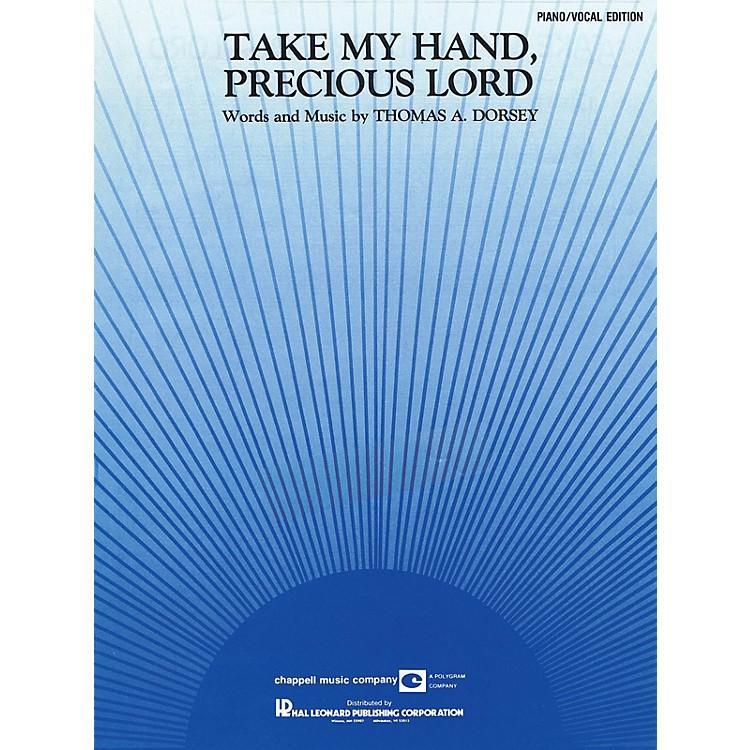 Hal LeonardTake My Hand, Precious Lord Piano Vocal Series