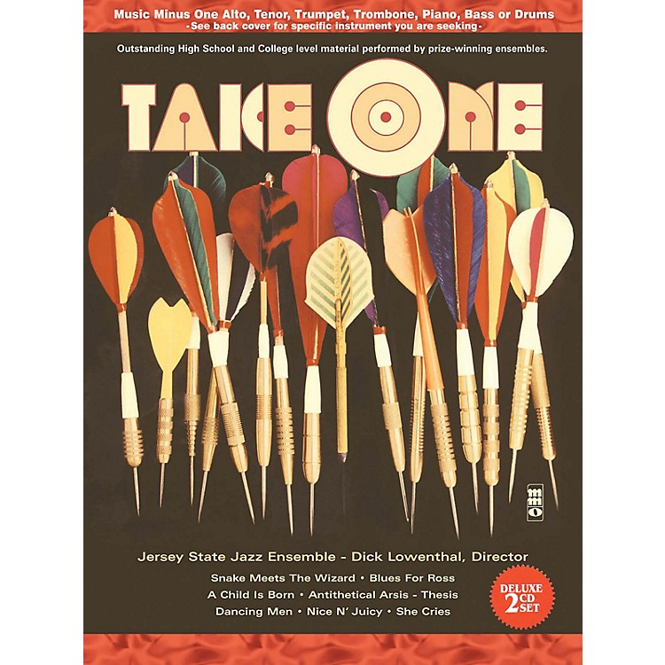 Music Minus OneTake One (Minus Piano) (Deluxe 2-CD Set) Music Minus One Series Softcover with CD