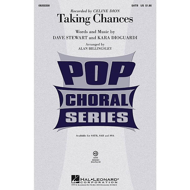 Hal LeonardTaking Chances ShowTrax CD by Celine Dion Arranged by Alan Billingsley