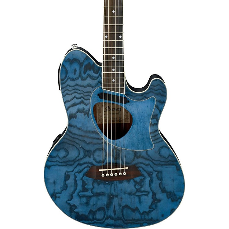 Ibanez Talman Series TCM50DNO Acoustic-Electric Guitar Dark Night Ocean