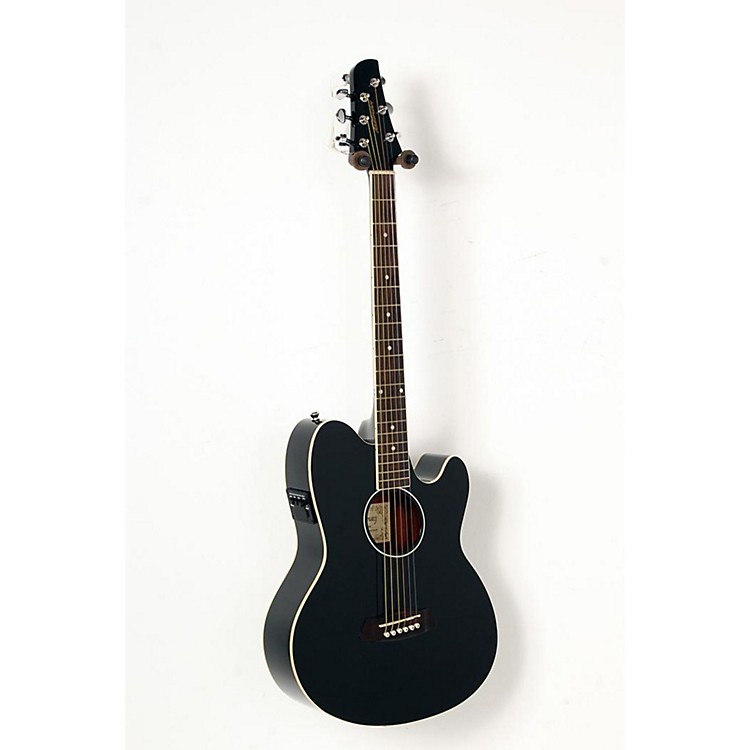 Ibanez Talman TCY10 Acoustic-Electric Guitar Black 888365848426
