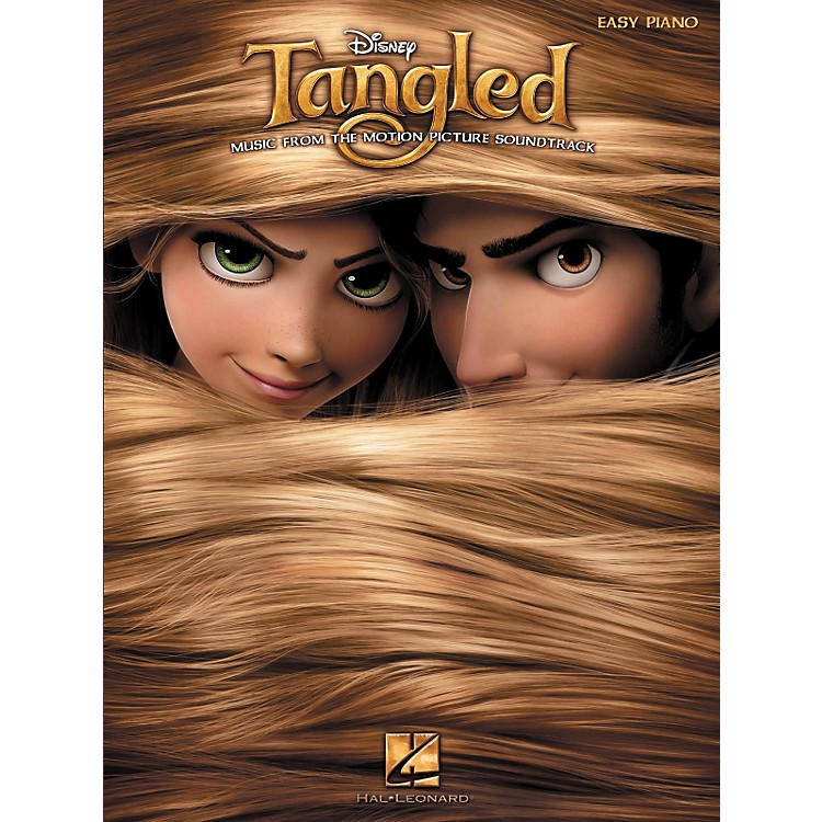 Hal LeonardTangled - Music From The Motion Picture Soundtrack For Easy Piano