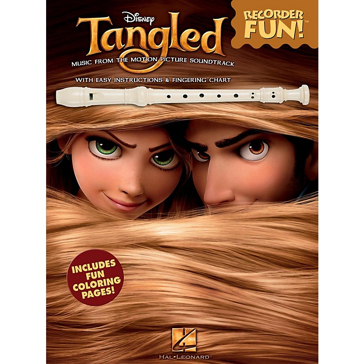 Hal LeonardTangled - Recorder Fun! Songbook